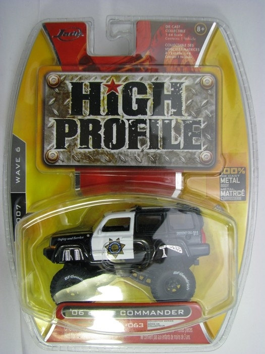Jeep Comander 2006 1:64 High Profile Jada Toys